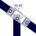 127 - T larga ajustable (30° - 45°)
